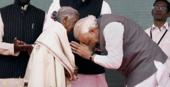 105-yr-old who sold goats to build toilets, made 'Swachh Bharat Abhiyan' mascot