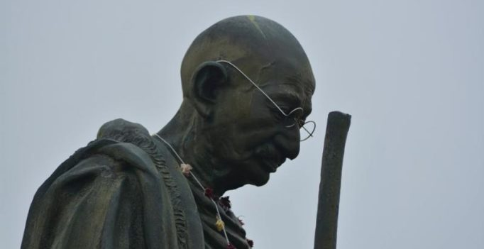Students of Ghana university demand removal of Gandhi's statue from campus