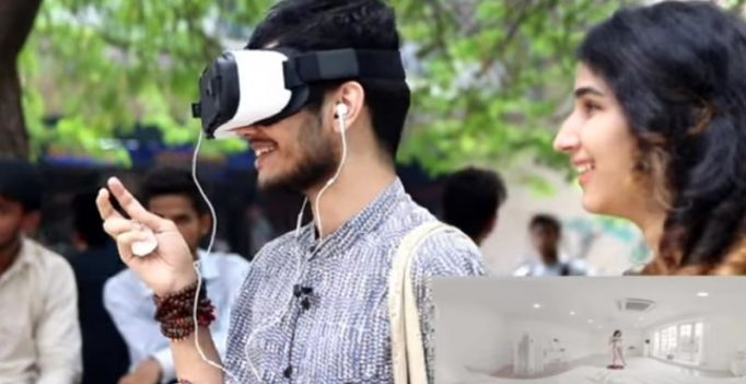Video: Delhi youth react after being shown 360 degree virtual reality porn