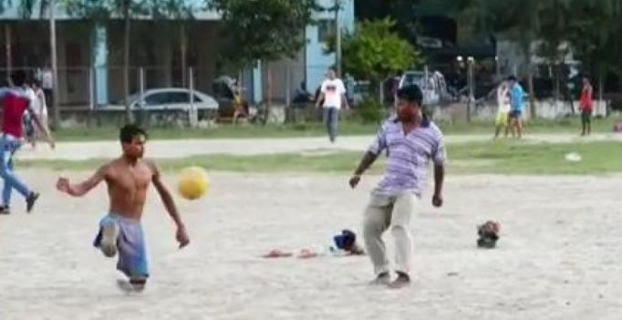 Legless Bangladeshi Cristiano Ronaldo fan dreams of becoming pro football player