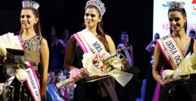 Mrs. India Beauty Queen crowned in Delhi