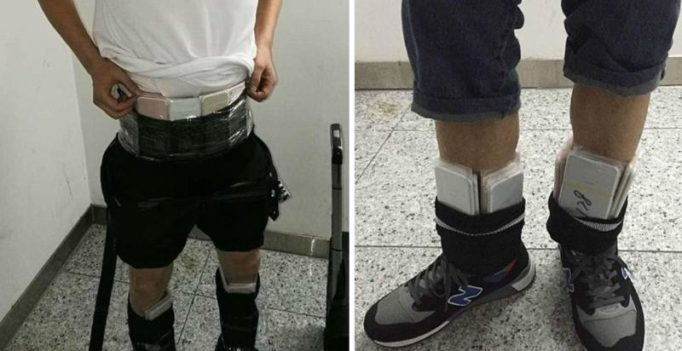 China: Smugglers caught with 400 iPhone 7 devices strapped around their bodies