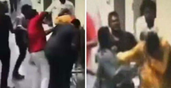 Caught on camera: Sri Lankan envoy kicked, punched at Kuala Lumpur airport