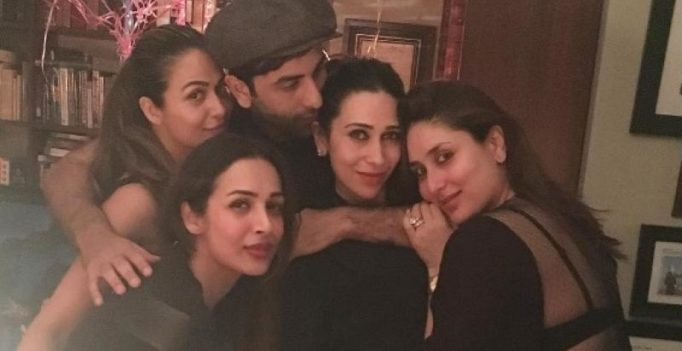 Inside pics: Kareena celebrates her 36th birthday with the Kapoors and Khans