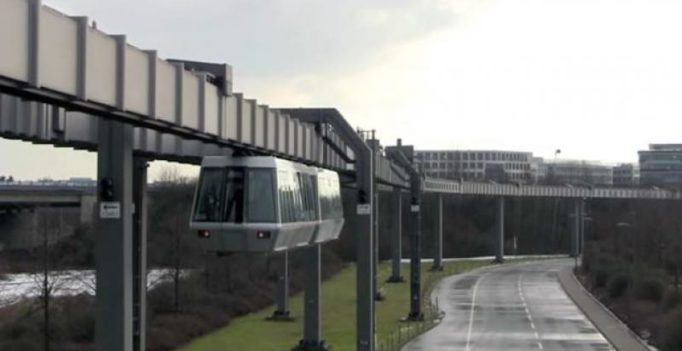 China rolls out first sky train, becoming third in the world to do so