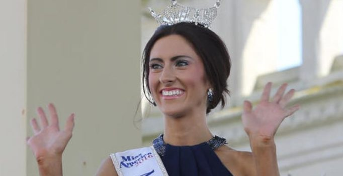 1st gay Miss America contestant eliminated from competition