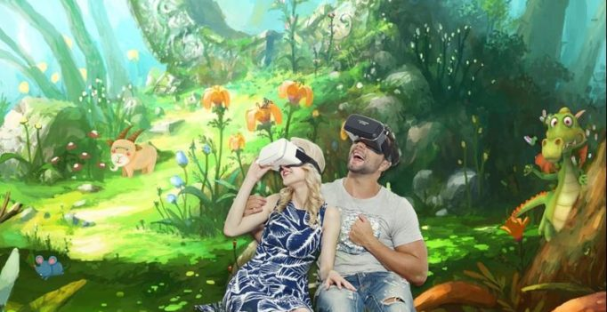 Experience VR without the headset