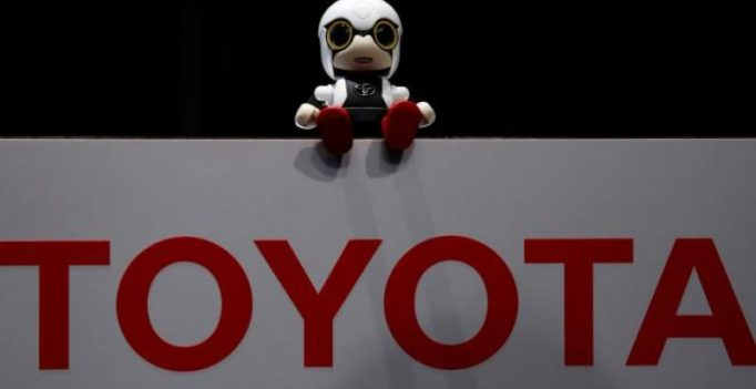 Toyota unveils robot baby in Japan