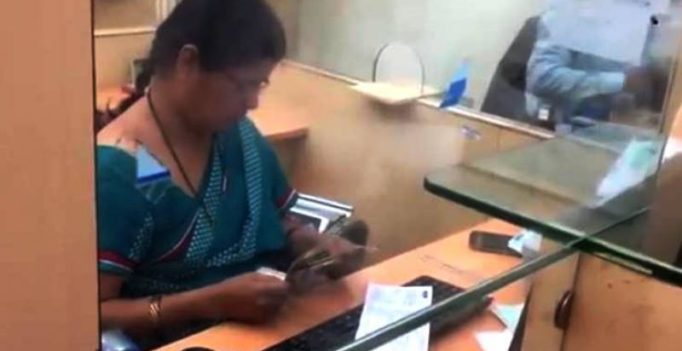 The reality behind a viral video mocking a bank cashier is inspiring