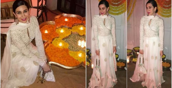 Karisma is in Diwali mode already but also misses sister Kareena Kapoor