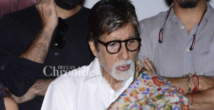 Big B speaks up against open defecation on Railway tracks