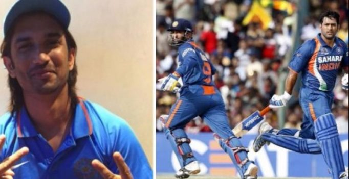 Dhoni's biopic reveals to Dinesh Karthik he was dropped, his reaction to it is epic