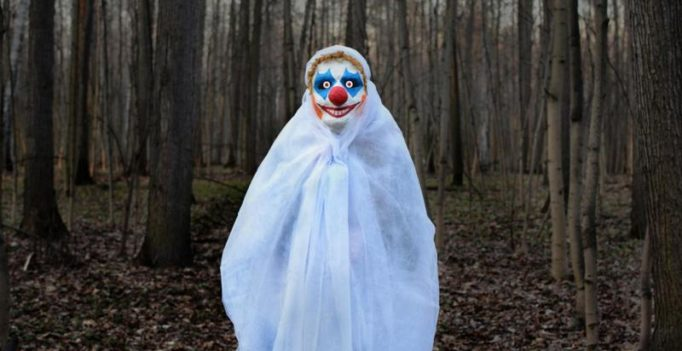 Woman lies about clown attacking her after turning up late for work
