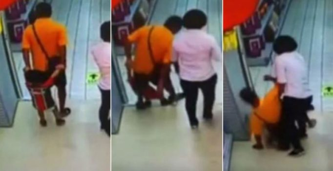 Video: Chinese boy dies after father accidentally falls on him while playing