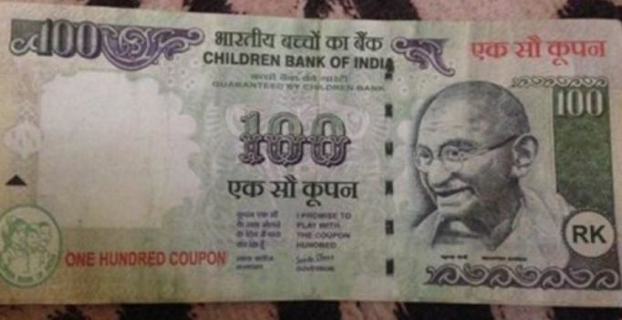 Actress gets duped by rickshaw driver with the fakest Rs.100 note ever