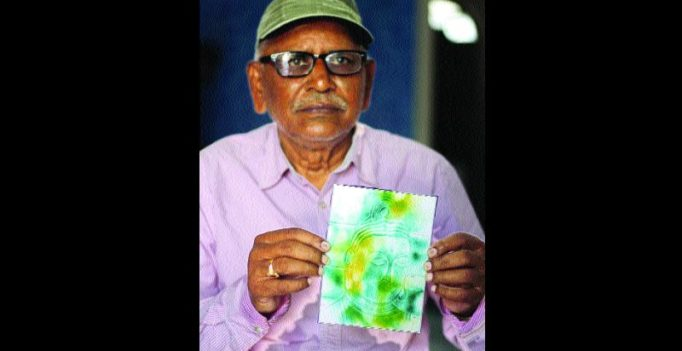 Warangal: 76-year-old creates work of art with his nails