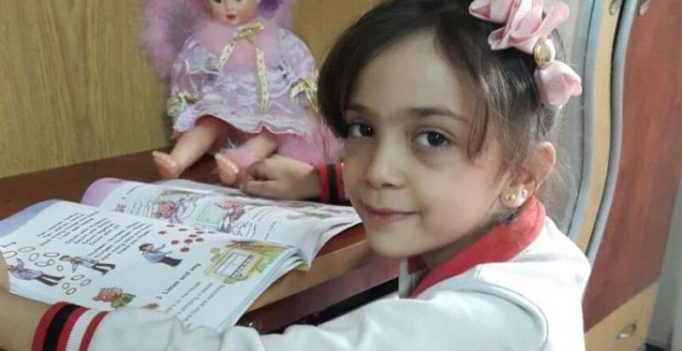7-year-old Syrian girl tweets about horrors of war from Aleppo