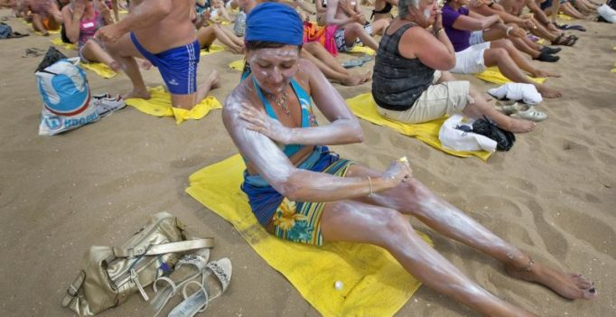 Experts feel people need to use more sunscreen for protection against skin cancer