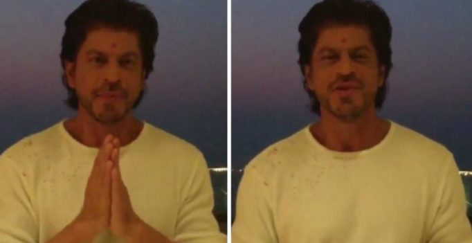 Watch: Shah Rukh Khan recites a beautiful poem for soldiers this Diwali