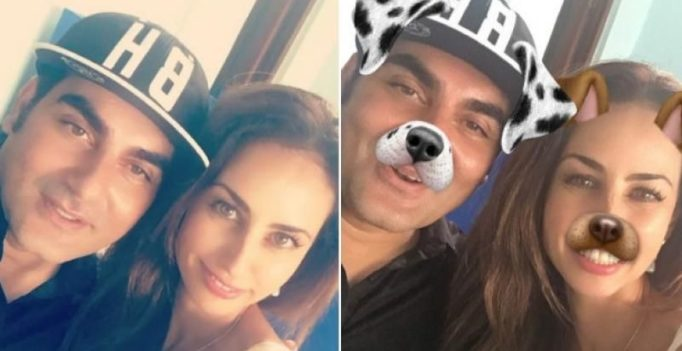 Arbaaz Khan's rumoured girlfriend Yellow is part of the Khan family now?