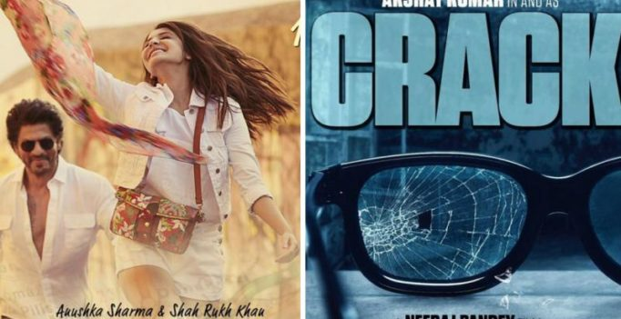 Shah Rukh's film to clash again, this time with Akshay Kumar's Crack