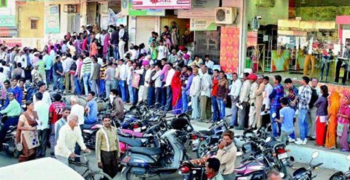 Death in queue: Congress leaders file complaint on Modi
