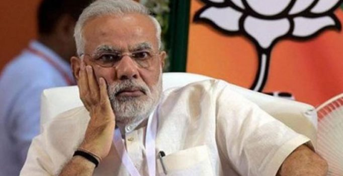 FIR against Congress leader for 'defacing' Modi's picture