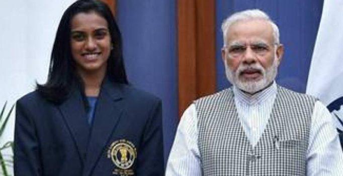Narendra Modi showers praise on Sindhu after China Open win