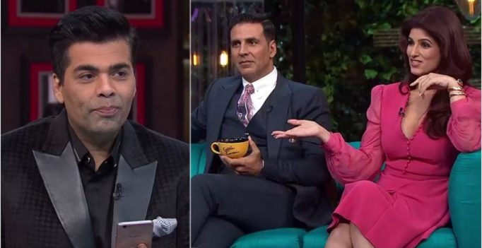 I was scared to have Twinkle on my couch than any other guest: Karan Johar