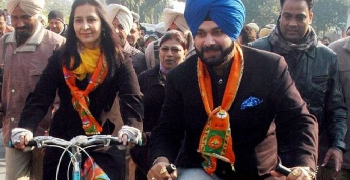 Sidhu's wife, former hockey player Pargat to join Congress next week