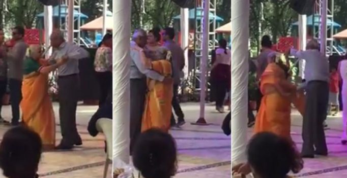 Senior couple's cute dance routine will reaffirm your faith in romance