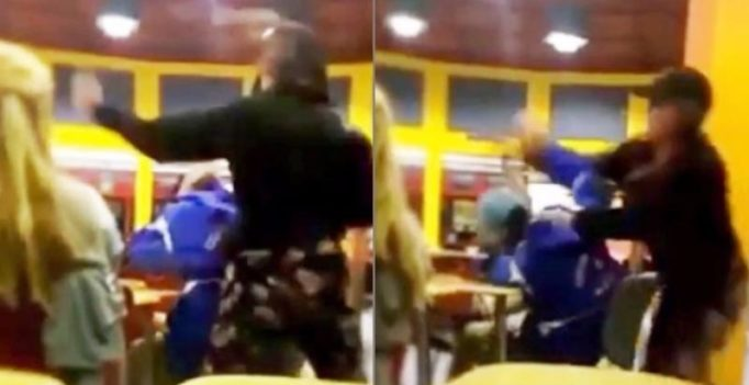 Video: School girl beats up classmate because she didn't like his ring tone