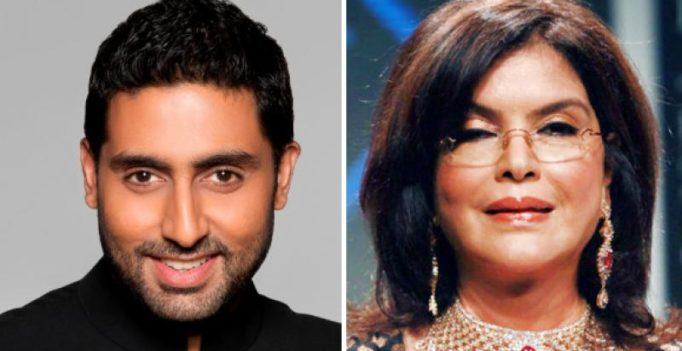 Can I sleep with you: Abhishek Bachchan asked 1st love Zeenat Aman