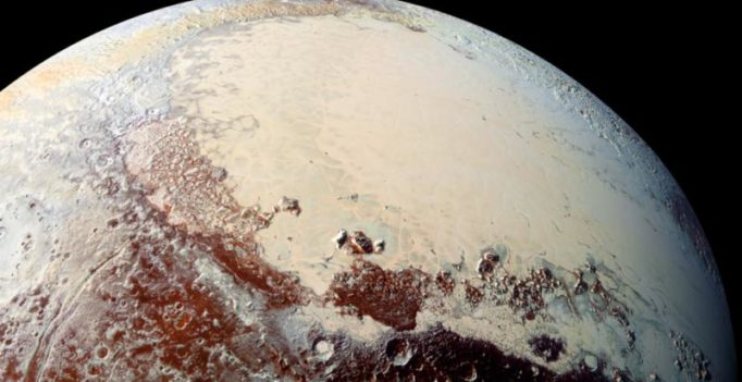 Underground ocean found on Pluto, likely slushy with ice
