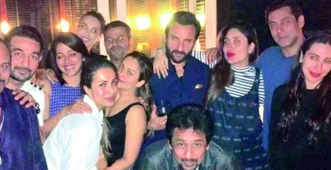 Salman, Iulia party it up with Kareena Kapoor