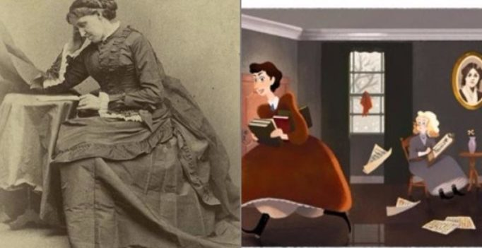 Google pays homage to Louisa May Alcott with doodle about 'Little Women'