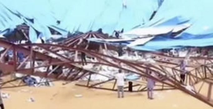 160 dead in collapsed Nigerian church: Hospital director