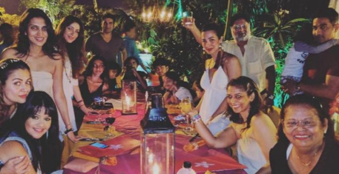 Pictures: Malaika Arora Khan and Arbaaz Khan party together in Goa