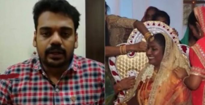 Video: Kerala man in Saudi doesn't get leave at work, attends own wedding on webcam