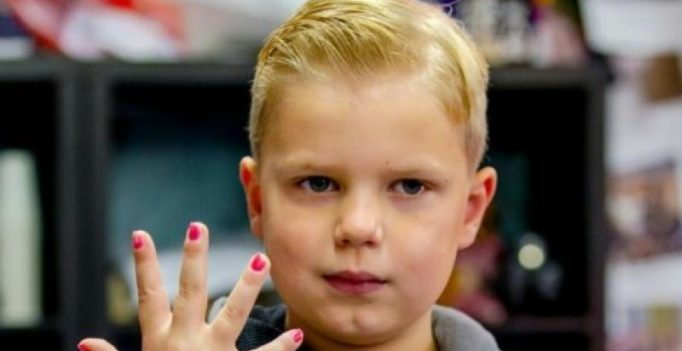 Terminally ill Dutch 6-yr-old raises 1 million in internet nail-varnish dare