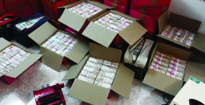 Rs 100 crore in cash, 120 kg gold seized in Income Tax raids in Chennai