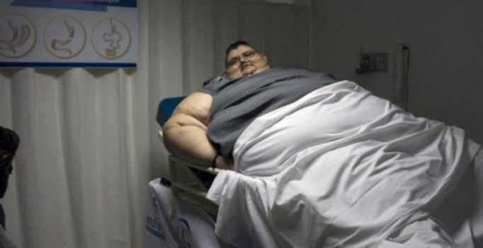 World's fattest man has resolution to reduce weight by half this year