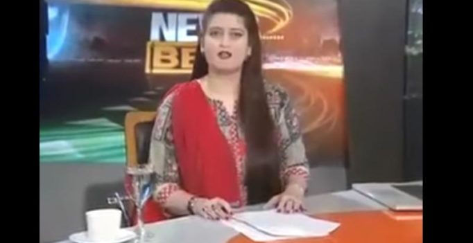 Pak news anchor becomes laughing stock after 'warning' Modi