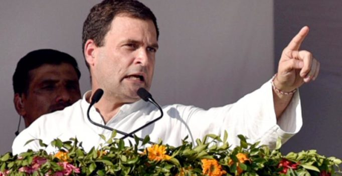 Rahul accuses Modi of taking money from Sahara, Birla; BJP rebuts charges