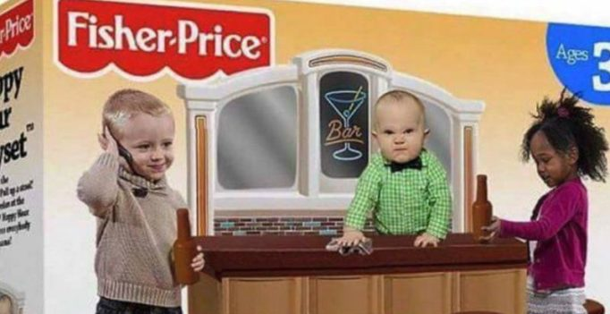 Fisher-Price debunks fake 'Happy Hour Playset' toy