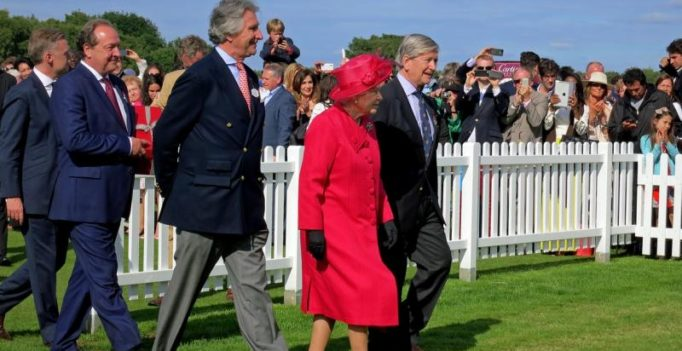 Britain's 90-year-old Queen Elizabeth eases her workload – slightly
