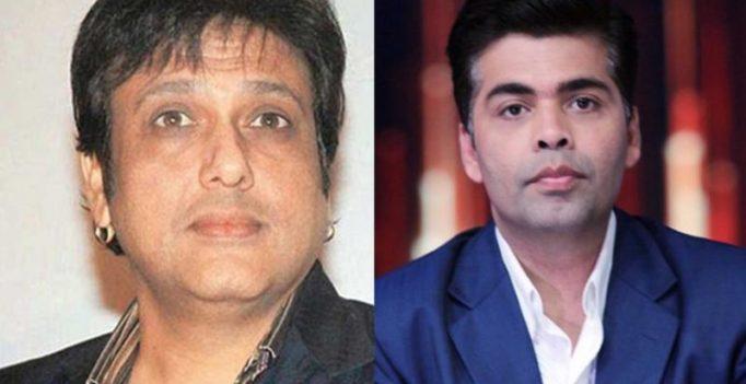 Karan Johar apologises to Govinda for not inviting him to Koffee with Karan