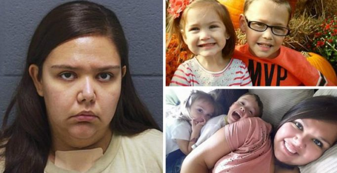 'I killed my two children': Indiana mom stabs her kids to death, arrested