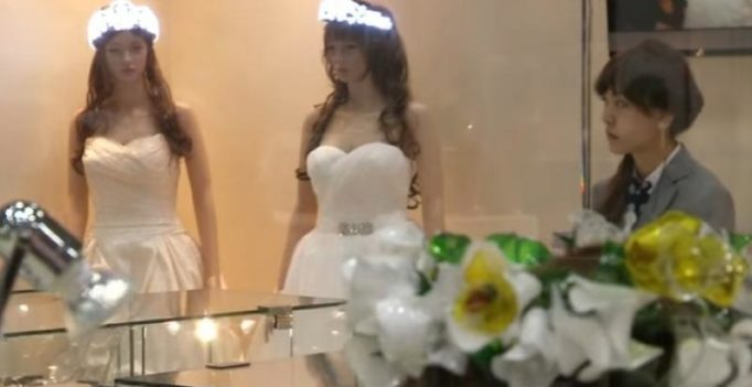 Spy-cam ring boxes and blinking tiaras at Japan jewellery expo
