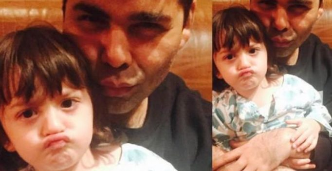 Karan Johar thinks AbRam Khan is a celebrity already and we couldn't agree more!
